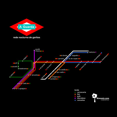 Plano de Metro de MOvida en A Guarda