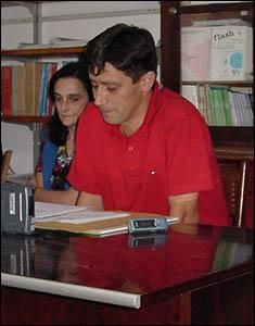 José A. Gándara, Presidente de 'ábaco'Foto Antón Ferreira